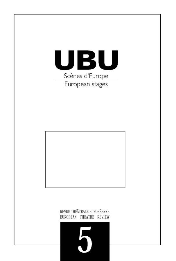 Couverture UBU numéro 5