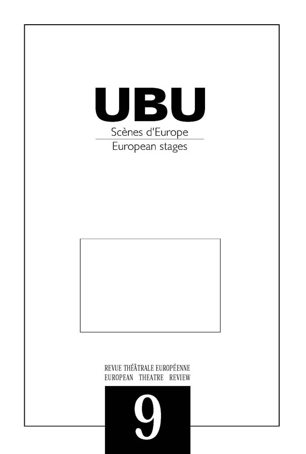 Couverture UBU numéro 9