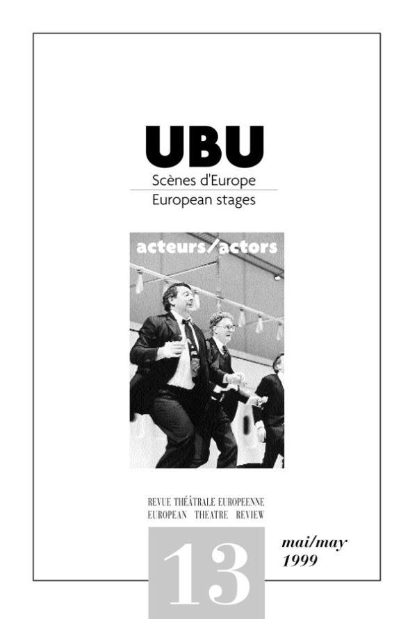 Couverture UBU numéro 13