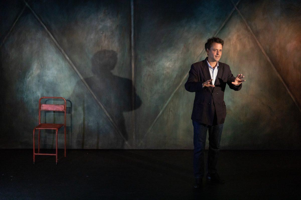 """Maxime d'Aboville dans """"Je ne suis pas Michel Bouquet"""""""