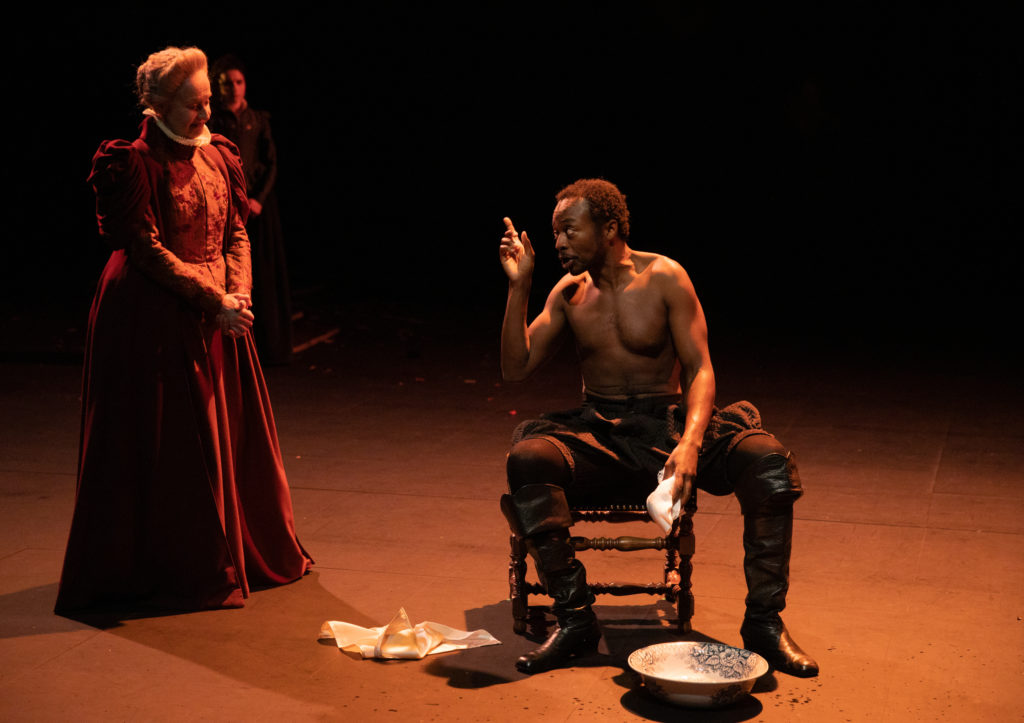 """Hippolyte"" de Robert Garnier, mise en scène de Christian Schiaretti au TNP © Michel Cavalca"