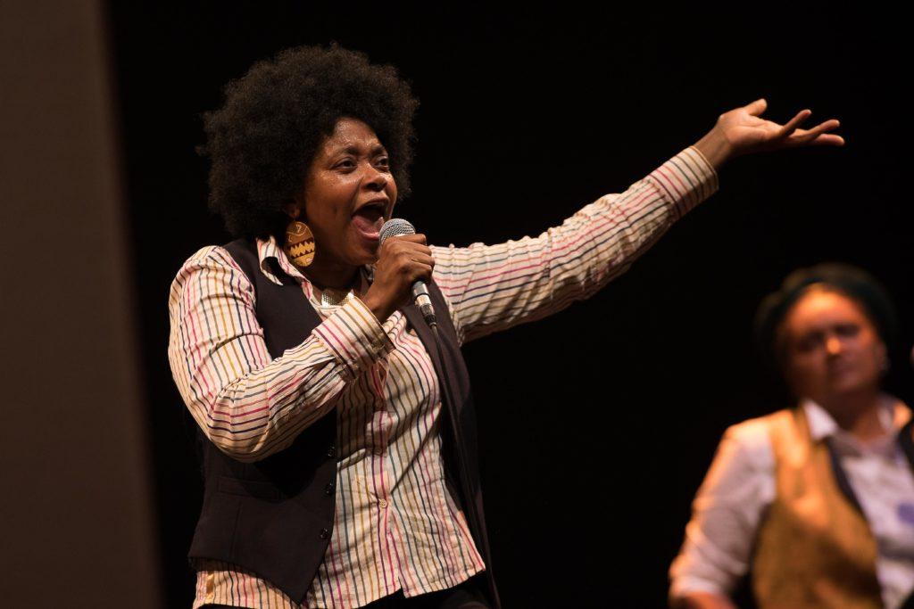 Congo Jazz band de Mohamed Kacimi, mise en scène de Hassane Kassi Kouyaté