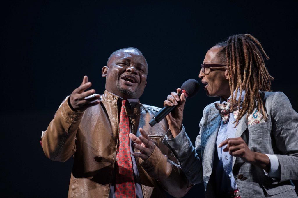 Congo Jazz band, de Mohamed Kacimi, mise en scène de Hassane Kassi Kouyaté au Festival Les Zébrures d'automne, Limoges 2020