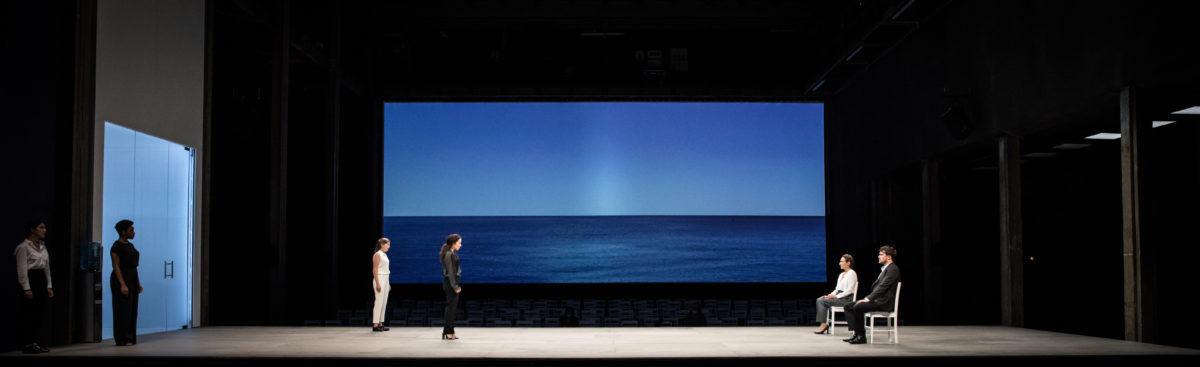 Iphigénie de Racine, mise en scène de Stéphane Braunschweig aux Ateliers Bertier de l'Odéon-Théâtre de l'Europe