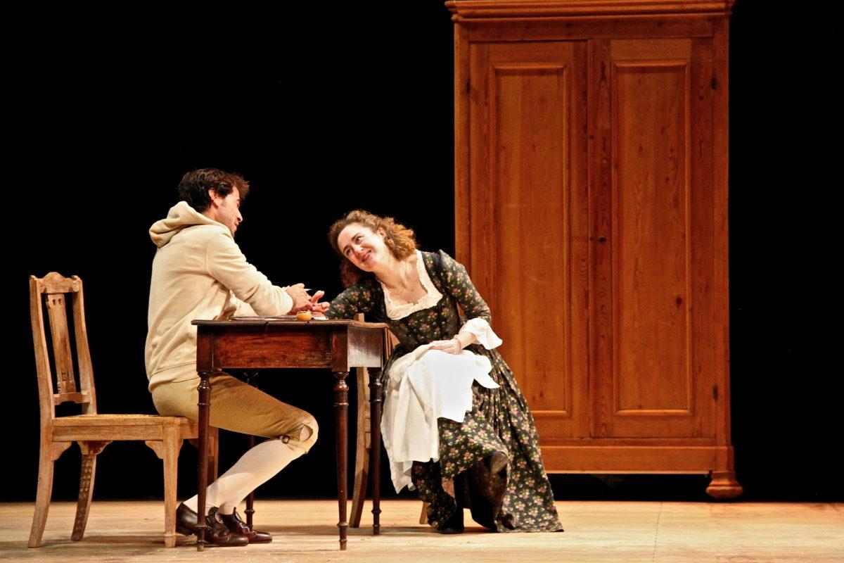 """""""Feuilleton Goldoni"""" mis en scène par Muriel Mayette-Holtz-Holtz"""