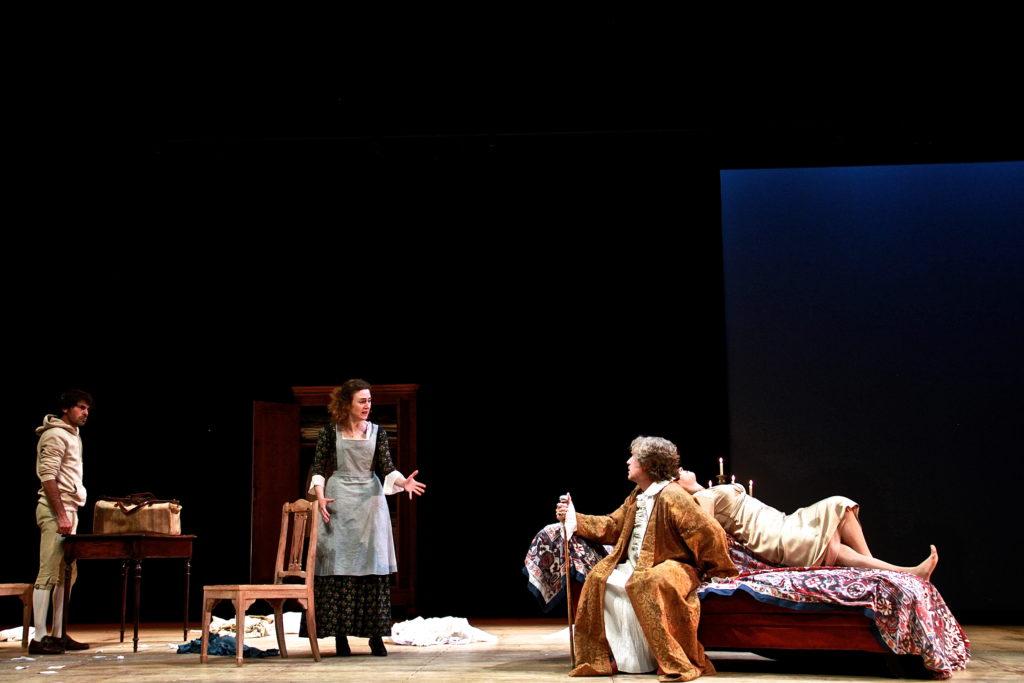 """""""Feuilleton Goldoni, mis en scène par Muriel Mayette-Holtz-Holtz"""