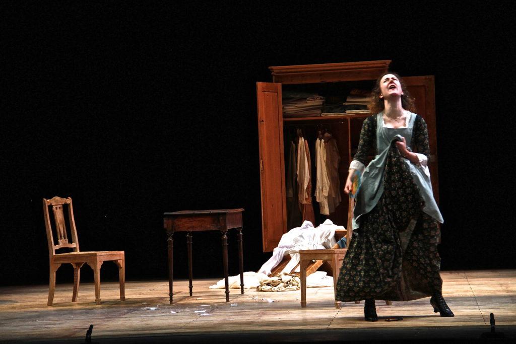 """""""Feuilleton Goldoni"""", mise en scène de Muriel Mayette-Holtz-Holtz"""