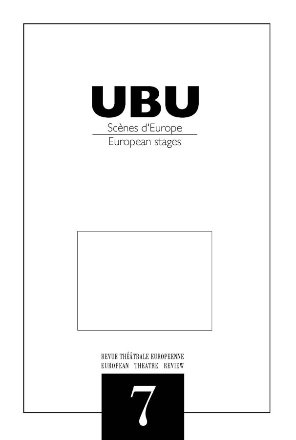 Couverture UBU numéro 7