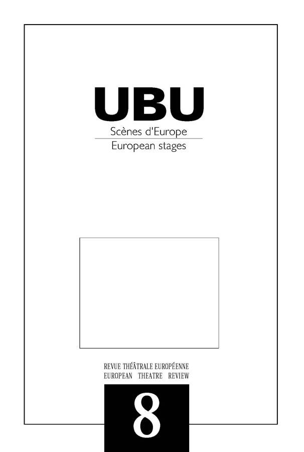 Couverture UBU numéro 8