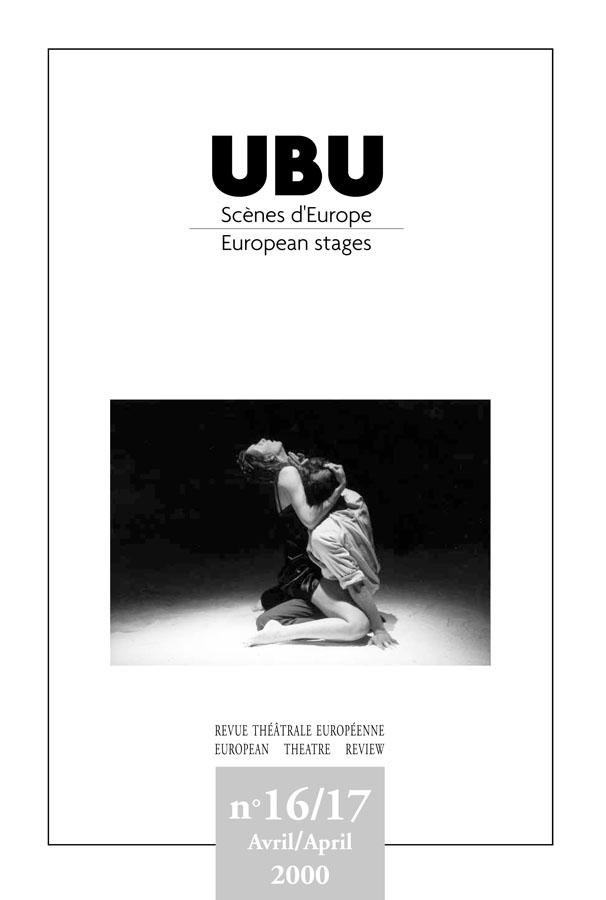 Couverture UBU numéro 16/17