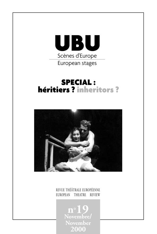 Couverture UBU numéro 19