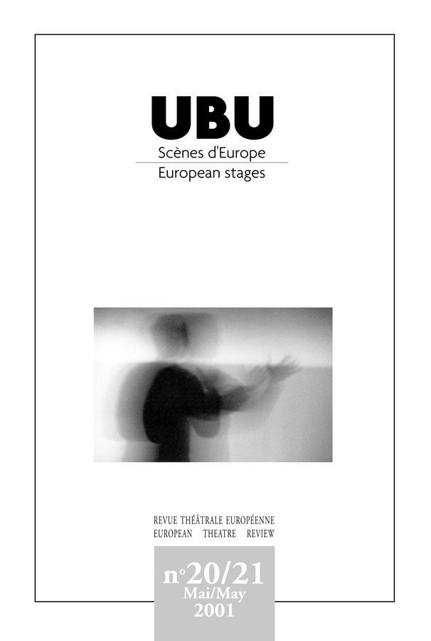 Couverture UBU numéro 20 / 21